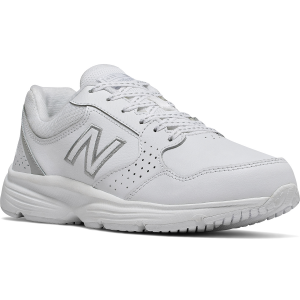 The Women\\\'s 411 Walking Shoes by New Balance are designed for fitness walking and running, but...