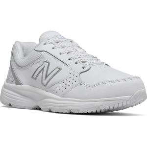 The Wide-fit Women\\\'s 411 Walking Shoes by New Balance are designed for fitness walking and...