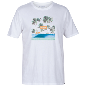 The Hurley Men\\\'s Premium Offshore T-Shirt delivers a stylish logo atop soft, comfortable fabric....