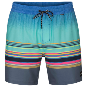 The Hurley Men\\\'s Spectrum Volley Board Shorts deliver classic style in a shorter 17 inch length,...