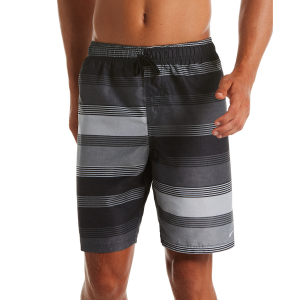 Hit the beach or pool in the Nike Linen Stripe 9\\\