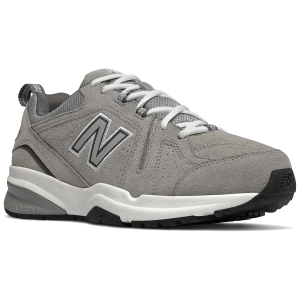 The leather look you want meets the support and cushioning you need in the New Balance 608v5....