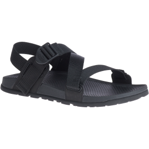 This low-profile men\\\'s open-toe sandal was designed for outdoor adventures. It boasts a...