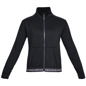 The Women\\\'s HeatGear Armour Full-Zip Jacket delivers superior breathability, without...