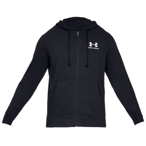 Go from warm up to workout in the Men\\\'s Sportstyle Full-Zip Terry Fleece Hoodie. The French...