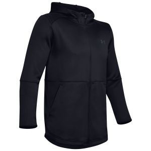 Warm up for your workout without becoming sweaty. The Men\\\'s Warm Up Full-Zip Hoodie features...