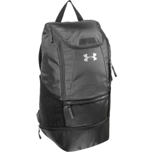 The UA Striker Soccer Backpack features a zippered main compartment, a durable exterior, and...