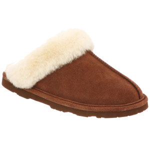 Slip into all-day comfort with the women\\\'s Bearpaw Loki II slippers.  Suede upper.  Plush...