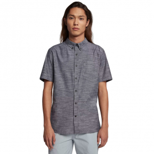 Constructed of 100% cotton, the Hurley One & Only Short Sleeve Shirt delivers breathable comfort...