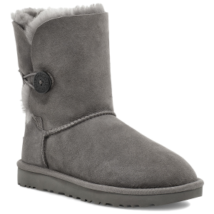 Embellished with a wood-button closure, this plush Ugg Women\\\'s Bailey Button II sheepskin boot...