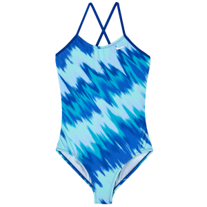 This one-piece swimsuit from Nike embodies ultimate performance. Lightweight poly-blend...