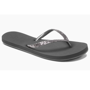Enjoy the warm weather in a pair of Reef Stargazer Luxe flip-flops.  EVA footbed compresses for...