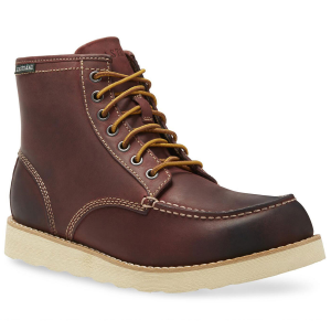 Eastland\\\'s handcrafted, classic moc toe workman\\\'s boot is packed with authentic character that...