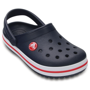 A sporty racing stripe adds a pop of color to Crocs\\\' iconic clogs. Made with lightweight,...