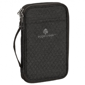 The RFID Travel Zip Organizer from Eagle Creek protects your personal information and stores...