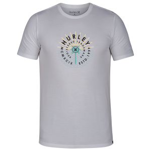 The Hurley Dri-FIT Surrounder Tee features sweat-wicking fabric to help keep you dry and...