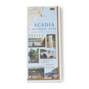 Image of Acadia National Park Map