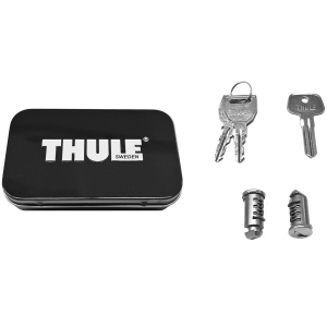 Purchasing a matched set of Thule\\\'s high-grade lock cylinders enables you to carry just one key...