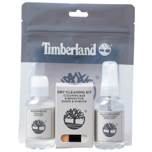 Extend the life of your Timberland footwear with this Timberland Product Care Travel Kit. The...