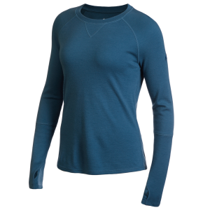 EMS Women's Merino Wool Base Layer Crew Neck Pullover