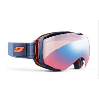 Julbo Aerospace Goggles, Dark Blue/orange - Zebra Light Red