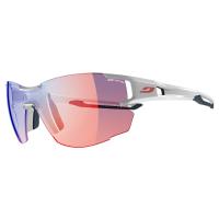 Julbo Aerolite Sunglasses With Zebra Light Red, White/grey