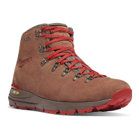 Danner Men's Mountain 600 Waterproof Hiking Boots, Brown/red - Size 9