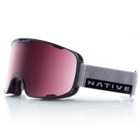 Native Eyewear Treeline Goggles, Gray Rip/snowtuned React Rose