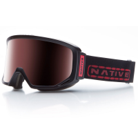 Native Eyewear Coldfront Goggles, Tartan/snowtuned React Rose