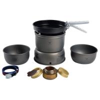 Trangia 27-3 Ultralight Hard Anodized Alcohol Stove Kit With Windscreens