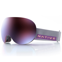 Native Eyewear Backbowl Goggles, Dark Rip/rose Blue