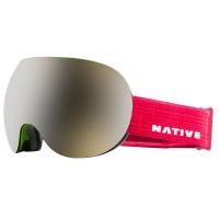 Native Eyewear Backbowl Goggles, Patrol - Snowtuned Silver