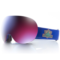Native Eyewear Backbowl Goggles, Ranger/rose Blue