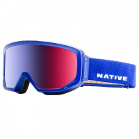 Native Eyewear Coldfront Goggles, Admiral - Snowtuned Rose Blue