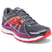 Brooks Women's Adrenaline Gts 17 Running Shoes, Anthracite/fuchsia