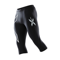 2XU Men's Thermal 3/4 Compression Tights