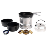 Trangia 25-6 Ultralight Non-Stick Alcohol Stove Kit With Kettle And Windshields