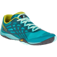 Merrell Women's Trail Glove 4 Trail Running Shoes, Baltic - Size 6.5