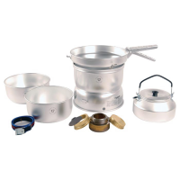 Trangia 25-2 Ultralight Alcohol Stove Kit With Kettle And Windshields