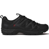 Karrimor Men's Summit Leather Low Hiking Shoes, Black - Size 12