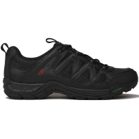 Karrimor Men's Summit Leather Low Hiking Shoes, Black - Size 14