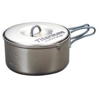 Evernew 0.9L Titanium Non-Stick Pot