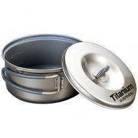 Evernew 0.6L Titanium Non-Stick Pot