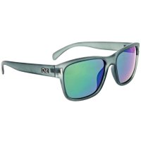 ONE BY OPTIC NERVE Kingston Sunglasses, Matte Crystal Grey