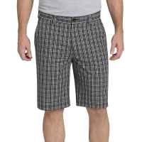 Dickies Men's 11 In. Regular Fit Plaid Work Shorts