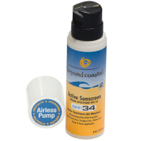 Beyond Coastal 8 Oz. Active Sunscreen Spf 34