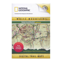 Nat Geo White Mountains Trails Illustrated Explorer