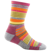 Darn Tough Girl's Sierra Stripe Micro Crew Light Cushion Socks
