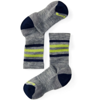 Smartwool Kids' Striped Hike Light Crew Socks
