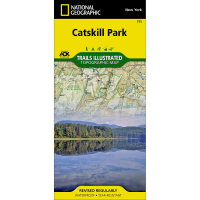 Nat Geo Catskills Park Trail Map
